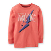 Carter's® Long-Sleeve Handsome Graphic Knit Tee – Boys 5 -7