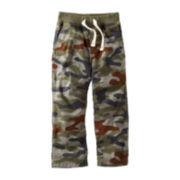Carter's® Poplin Camo Woven Pants – Boys 5-7