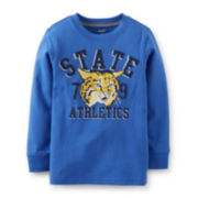 Carter's® Long-Sleeve Athletics Graphic Tee – Boys 5 -7