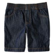 Okie Dokie® Pull-On Denim Shorts – Boys 2t-6