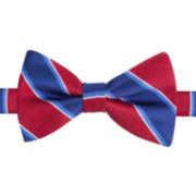 IZOD® Varsity Stripe Pre-Tied Bow Tie