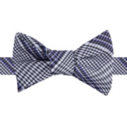 IZOD® Dressy Plaid Self-Tie Bow Tie
