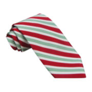 Hallmark® Wide Candy Cane Stripe Tie