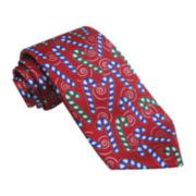 Hallmark® Multifoil Candy Cane Tie