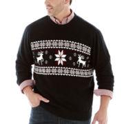 Dockers® Reindeer Sweater–Big & Tall