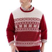 Dockers® Snowflake Sweater–Big & Tall