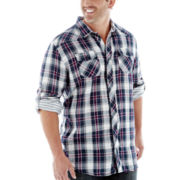 i jeans by Buffalo Madie Long–Sleeve Woven Shirt–Big & Tall