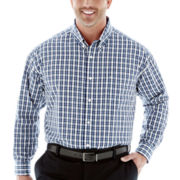 Dockers® No-Wrinkle Plaid Shirt–Big & Tall