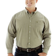 Dockers® No-Wrinkle Gingham Shirt–Big & Tall