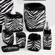 Creative Bath™ Zebra Collection