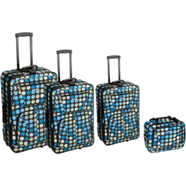 jcpenney.com | Rockland Galleria 4-pc. Luggage Set