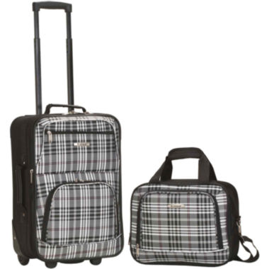 jcpenney.com | Rockland Rio 2-pc. Luggage Set-Plaid