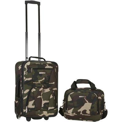 Rockland Rio 2-pc. Luggage Set-Camo