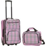 Rockland Rio 2-pc. Luggage Set-Plaid