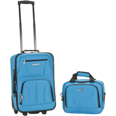 jcpenney.com | Rockland Rio 2-pc. Luggage Set-Brights