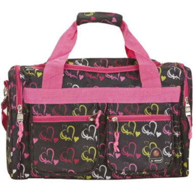 "jcpenney.com | Rockland 19"" Freestyle Print Carry-On Duffle Bag"
