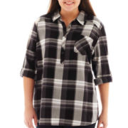 Arizona Plaid Shirt - Plus