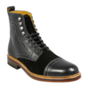 Stacy Adams® Madison II Cap-Toe Mens Leather Boots
