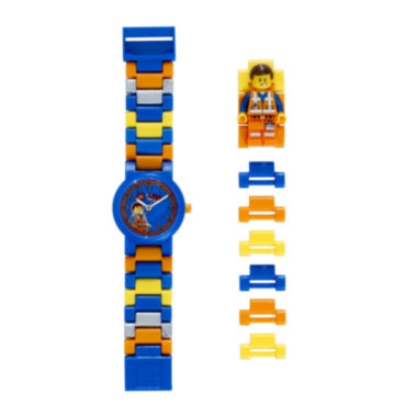jcpenney.com | LEGO® Movie Emmet Kids Watch with Mini Figure