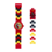 LEGO® Ninjago Jungle Kai Kids Watch with Mini Figure