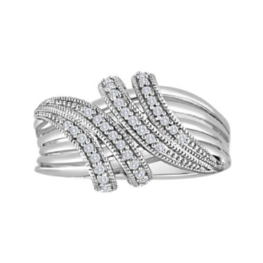 jcpenney.com | 1/5 CT. T.W. Diamond Sterling Silver Wrap Ring