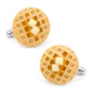 Waffle Cuff Links