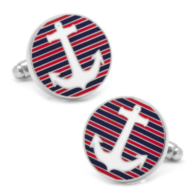 jcpenney.com | Striped Anchor Cuff Links