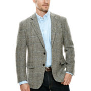 Stafford® Signature Harris Tweed Sport Coat - Classic Fit