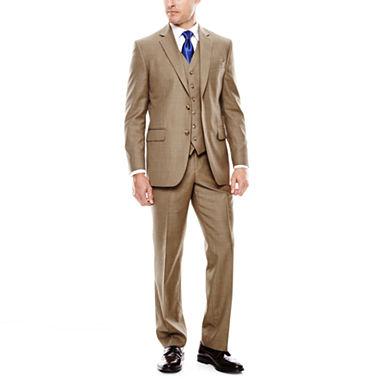 Brown Sharkskin Suit Dress Yy