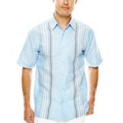 The Havanera Co.® Panel-Print Woven Shirt