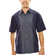 The Havanera Co.® Panel-Print Woven Shirt