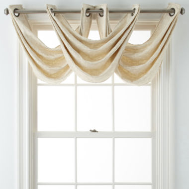 jcpenney.com | JCPenney Home™ Anza Grommet-Top Waterfall Valance