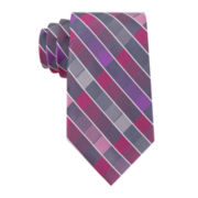 Van Heusen® Vegas Plaid Silk Tie - Extra Long