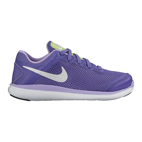 Nike Flex 2016 Run Girls Running Shoes - Little Kids