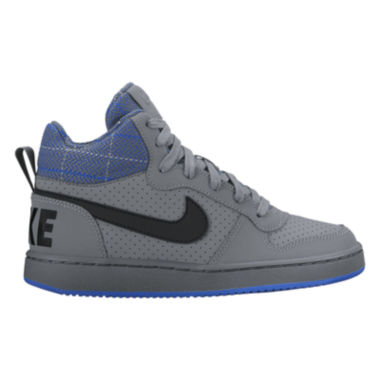 jcpenney.com | Nike Court Borough Mid Boys Athletic Shoes - Big Kids