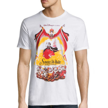 jcpenney.com | Disney Collection Short-Sleeve Snow White Poster Tee