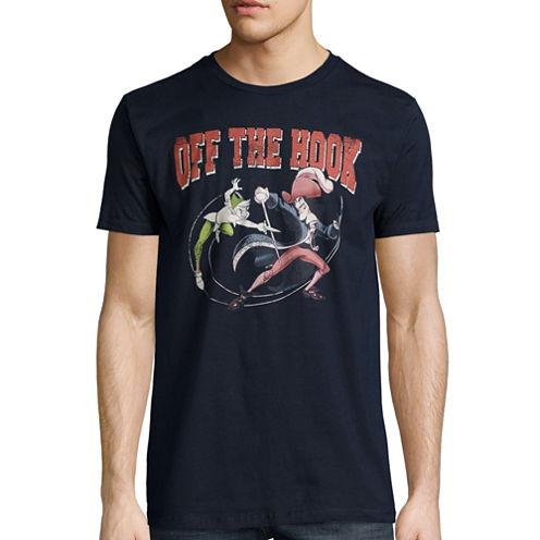 Disney Collection Short-Sleeve Peter Pan vs. Captain Hook Tee