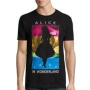 Disney Collection Short-Sleeve Alice in Wonderland Tee