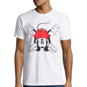 Disney Collection Short-Sleeve What's Up Mickey Mouse Tee