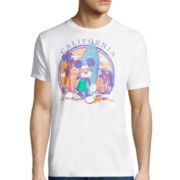 Disney Collection Short-Sleeve Mickey California Tee