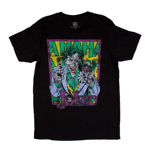 Classic Joker Short-Sleeve Crewneck Tee
