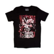 Suicide Squad Poster Short-Sleeve Crewneck Tee