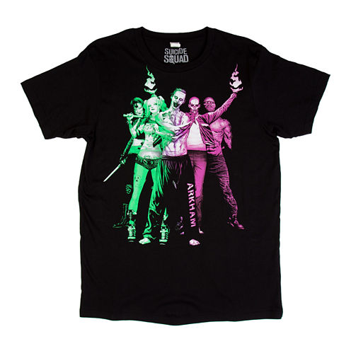 Suicide Squad Stand Short-Sleeve Crewneck Tee
