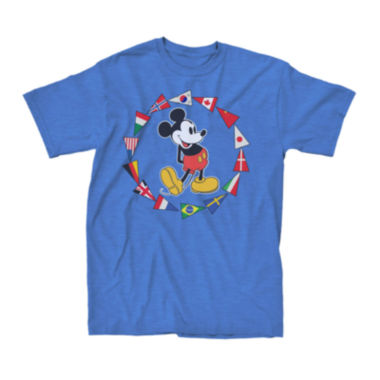 jcpenney.com | Short-Sleeve Mickey Mouse Pennant Flags Tee