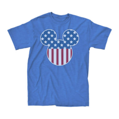 jcpenney.com | Short-Sleeve Mickey Mouse Flag Fill Tee