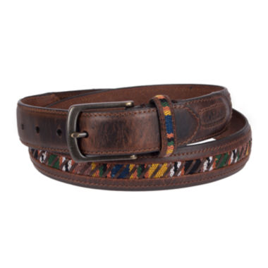 jcpenney.com | Columbia® Guatemalan Fabric Inlay Belt - Big & Tall