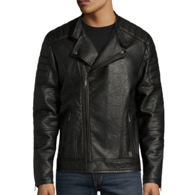 jcpenney.com | i jeans by Buffalo Adriel Faux-Leather Jacket