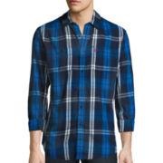 U.S. Polo Assn.® Long-Sleeve Plaid Twill Sport Shirt