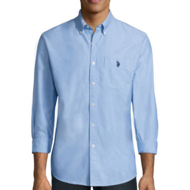 jcpenney.com | U.S. Polo Assn.® Long-Sleeve Oxford Sport Shirt