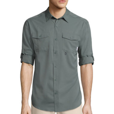 jcpenney.com | Columbia Sportswear Co.® Pacific Breeze™ Long-Sleeve Woven Shirt